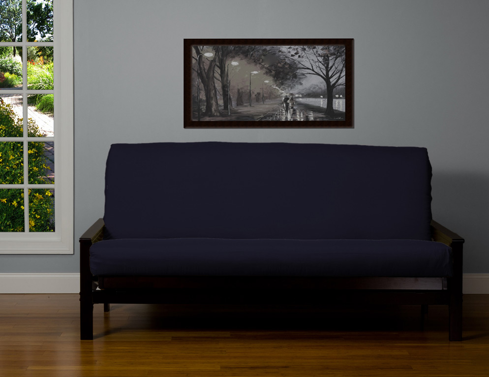 Leather Suede Microfiber Futon Cover